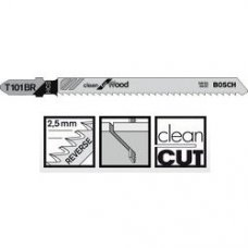 Пильное полотно Bosch Clean for Wood T 101 BR 1шт