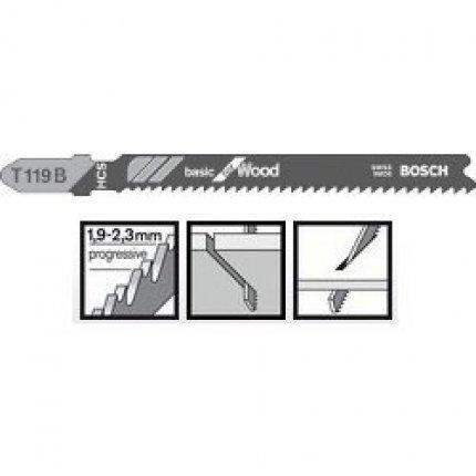 Пильное полотно Bosch Basic for Wood T 119 B 5шт