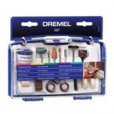 Набор насадок многофункциональный Dremel 687 54 шт
