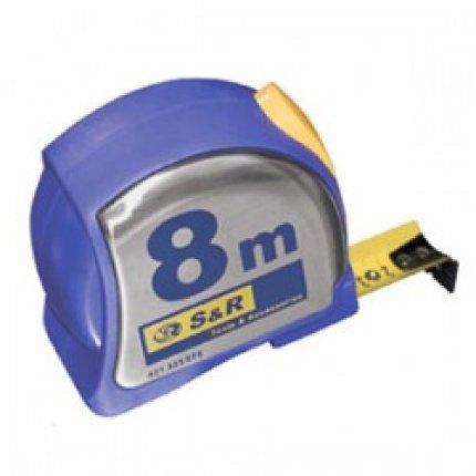 Рулетка S&R 8м серии Spot-On
