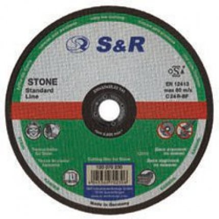 Круг отрезной по камню S&R Standart типа C 24 R 150