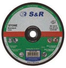 Круг отрезной по камню S&R Standart типа C 30 P3 125