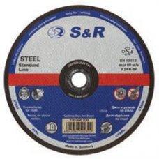 Круг отрезной по металлу S&R Supreme типа A 24 R 150
