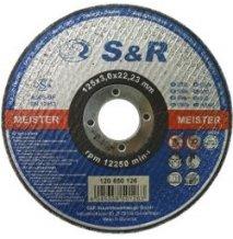 Круг отрезной по металлу S&R Meister типа A 60 S-BF Slim 125