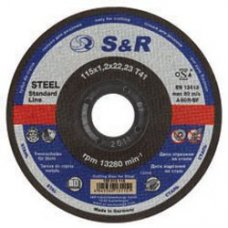 Круг отрезной по металлу S&R Supremeтипа A 60 R Slim 125