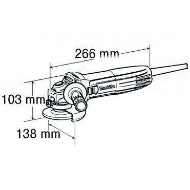 Угловая шлифмашина Makita GA 5030 (GA5030)