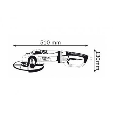 Угловая шлифмашина Bosch GWS 24-230 LVI (0601893F00)