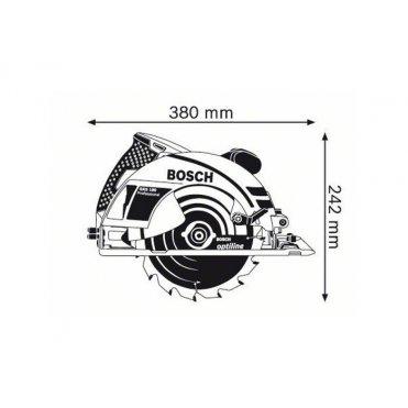 Пила дисковая Bosch GKS 190 (0601623000)