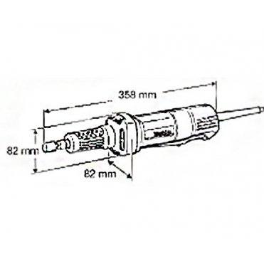 Прямая шлифмашина Makita GD 6001 (GD0601)