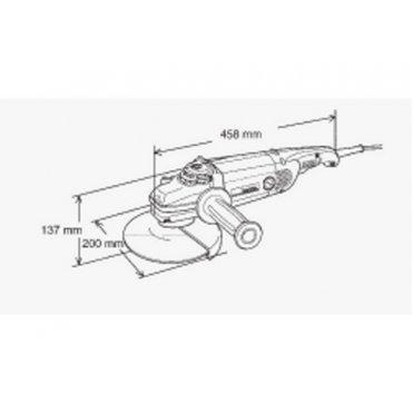 Угловая шлифмашина Makita GA 7020 (GA7020)