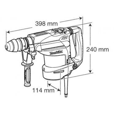 Перфоратор Makita HR 3210 С (HR3210C)