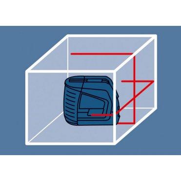 Нивелир лазерный линейный Bosch GLL 2-50 + Штатив BS 150 (0601063105)