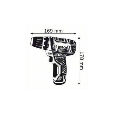 Шуруповёрт Bosch GSR 10.8-2-Li без аккумулятора (0601868101)