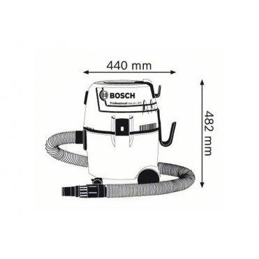 Пылесос промышленный Bosch GAS 20 L SFC(060197B000)