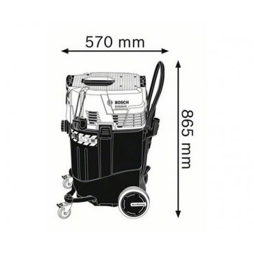Пылесос промышленный Bosch GAS 55 M AFC (06019C3300)