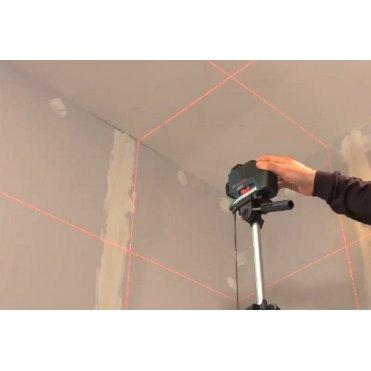 Нивелир лазерный линейный Bosch GLL 3-80 Р + вкладка для кейса L-Boxx (0601063305)