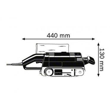 Шлифмашина ленточная Bosch GBS 75 AE (0601274708)