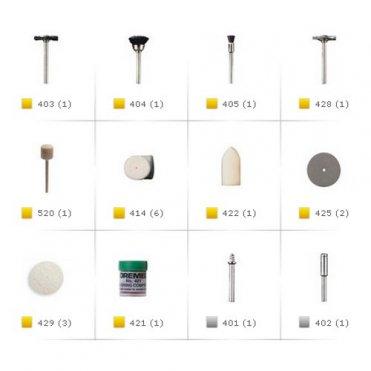 Набор насадок для чистки Dremel 684 20 шт (26150684JA)