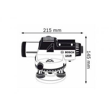 Нивелир оптический Bosch GOL 26 D (0601068000)