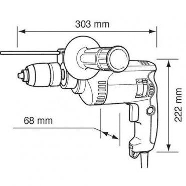 Дрель ударная Makita НP 1640 (HP1640)