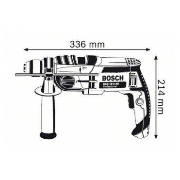 Дрель ударная Bosch GSB 19-2 RE ЗВП (060117B600)