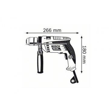 Дрель ударная Bosch GSB 13 RE ЗВП (0601217102)
